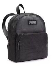 e2ffad78bee2 Victoria s Secret Pink Black Mesh Mini Backpack for sale online