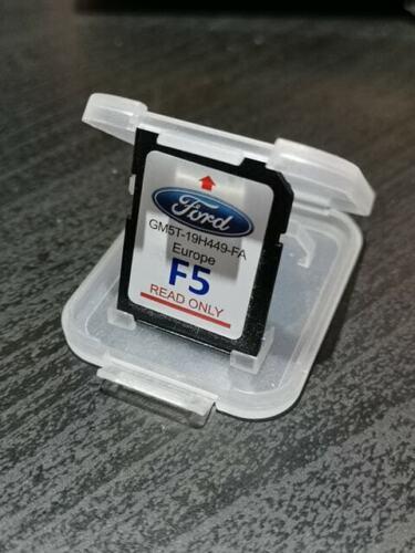 Genuine Ford F5 Navegación Por Satélite Sat Nav Europa Tarjeta SD GM5T-19H449-FA