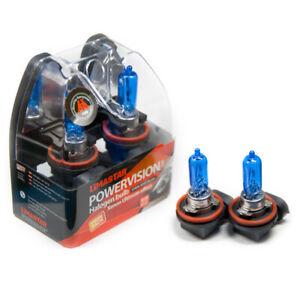 2-X-H9-Poires-PGJ19-5-Voiture-Lampe-Halogene-6000K-65-Watt-Xenon-Ampoules-12V