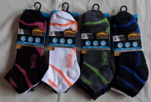 value ProHike sport trainer shoe liner size 4-11 socks 6 or 12 pair pack