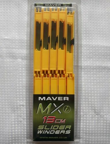 Maver Mxi Slider Pole Rig Winders 13cm