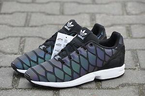 Adidas Zx Flux Xenopeltis Ebay