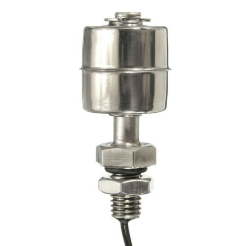 Stainless Steel 45mm// PP 52mm// Right Angle Ball Float Switch Water Level Sensor