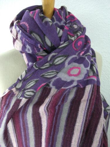 Scialle stola lana mel stoffa multicolore t09 y Stampato N Sciarpa di panno Davis TTcq1wr4