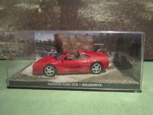 James Bond Car Collection Ferrari F355 Gts Goldeneye Ebay