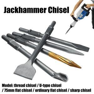 Image Is Loading Jack Hammer Drill Chisel Bits For Electric Demolition