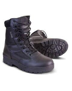 Patrulla de Seguridad Bota Talla 10 seguridad de policía Ejército Cadete Airsoft Caminar