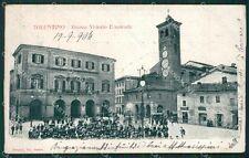 Macerata Tolentino cartolina QK6551