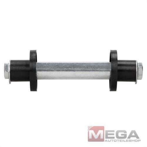 Achse für Schubkarrenrad Sackkarrenrad Schubkarre Sackkarre 19,7 x 128 mm Stahl