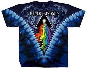 OFFICIAL-LICENSED-PINK-FLOYD-PRISM-RIVER-TIE-DYE-T-SHIRT-ROCK-DSOTM-GILMOUR