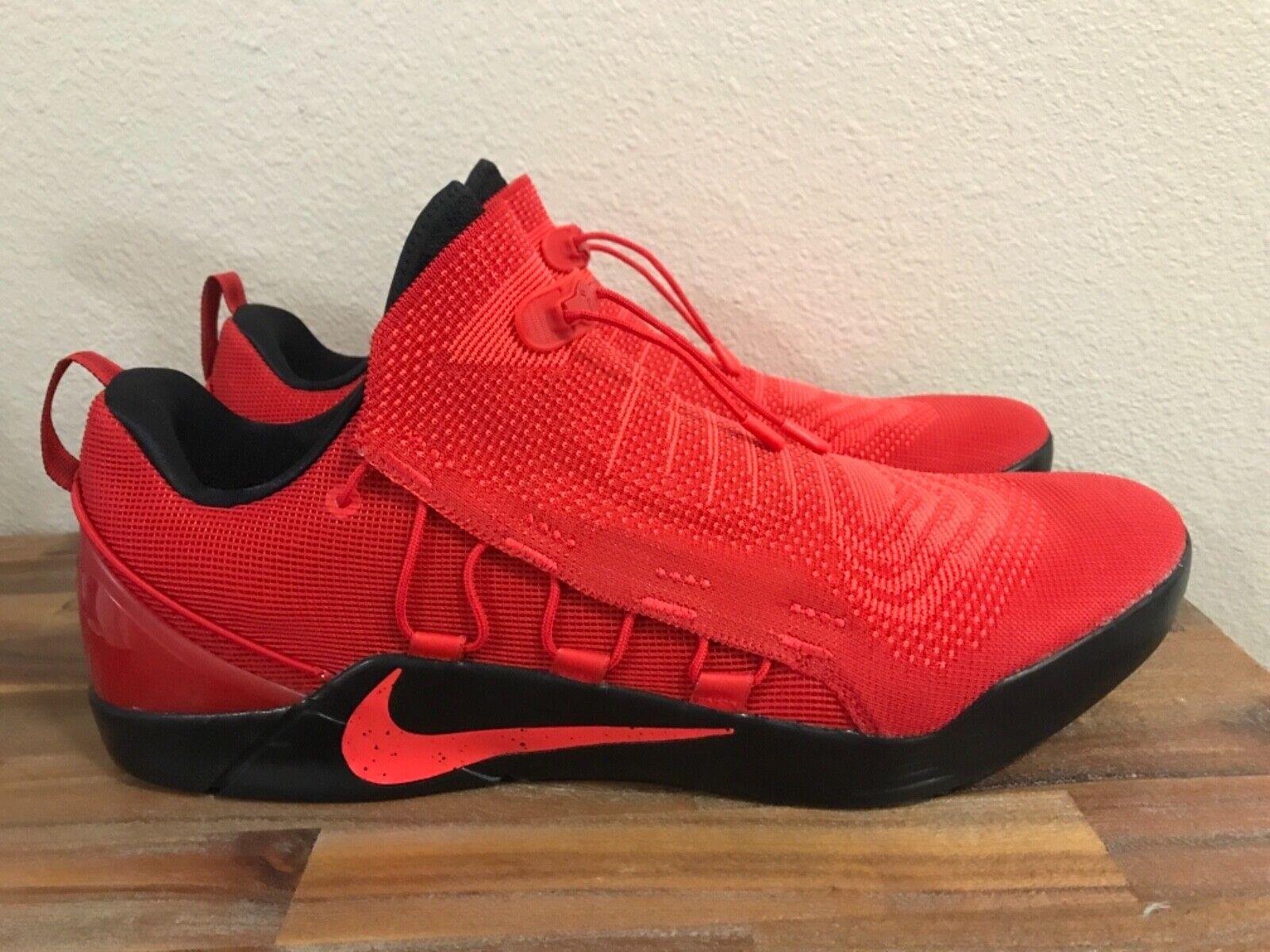 Nike Kobe Ad Nxt University Red 882049 600 Men S Size 18 Ebay