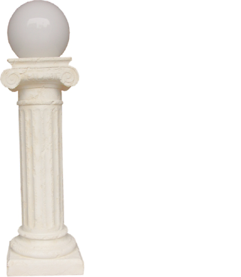 Säule Beleuchtet Dekoration Säulen Lampe Leuchte Figuren Skulptur Skulpturen