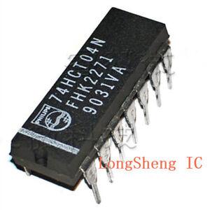 10pcs-74HCT04N-SN74HCT04N-74HCT04-DIP-14-new