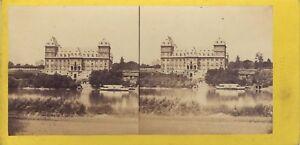 Torino-Italia-Foto-C-Hodcend-Stereo-Vintage-Albumina-Ca-1860