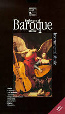 PATHWAYS OF BAROQUE MUSIC: INSTRUMENTAL MUSIC * 5 CD BOX SET * HARMONIA MUNDI *