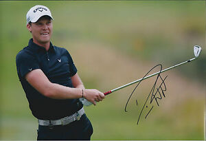 Danny Willett autograph
