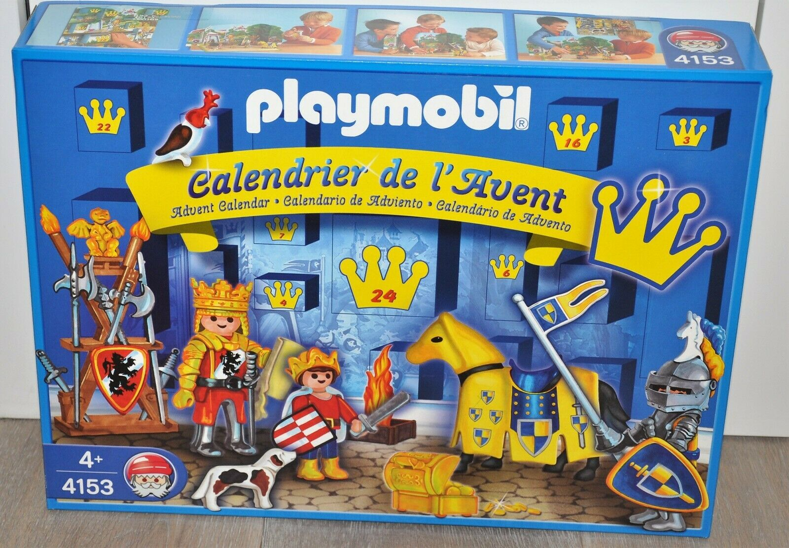 Playmobil Christmas 4153 ADVENT CALENDAR 2006