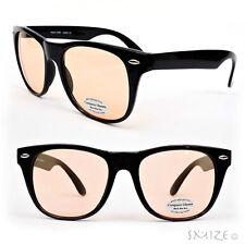 Anti-Glare Computer Glasses with Yellowish Tint Lenses