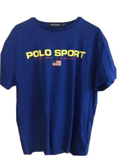 Polo Sport Ralph Lauren Royal Blue T-shirt Large N
