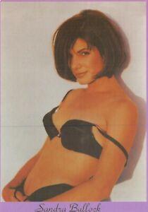 Postcard-SANDRA-BULLOCK-Underwear-Sexy-Portrait-by-Box-Office-64V