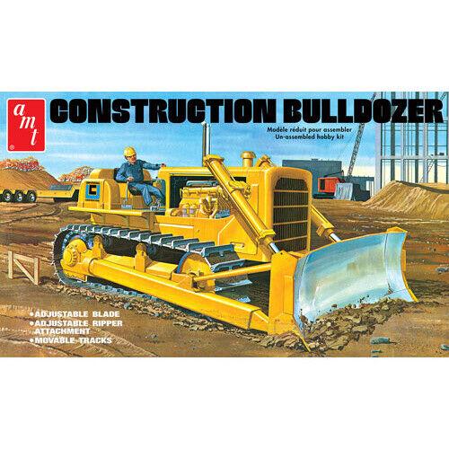 AMT 1086 Construction Bulldozer 1:25 Scale Model AMT