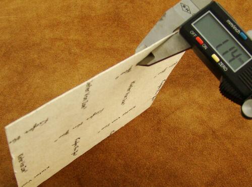 """artesanías Mango hace fuentes los trazadores de líneas Conjunto de 4 Blanco 6x6/"""" forro de fibra"""