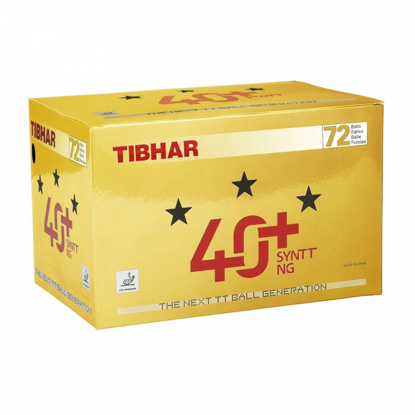 Tibhar Tischtennisball Tischtennisball Tischtennisball  40+ SYNTT NG 72er 99bb2f