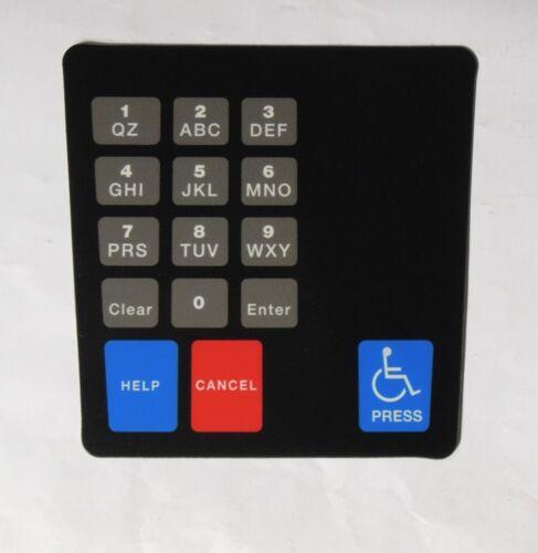 Gilbarco ENE1701G006 Ence Crind Keypad Phillips