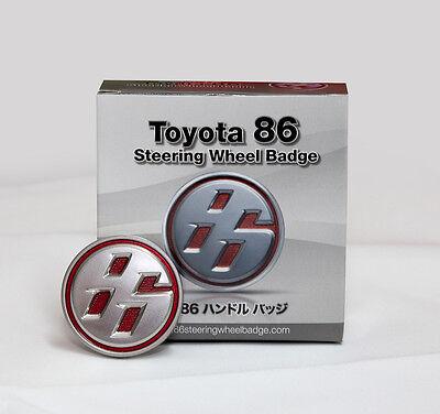Toyota 86 Steering wheel badge FRS GT86 GTS86 ZN6 hachiroku