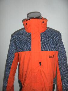 rare-Jack-Wolfskin-Jacke-illumiNITE-vintage-outdoor-oldschool-orange-nylon-XL