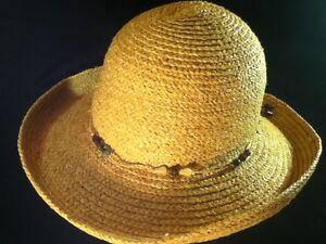 Eddie Bauer Womens Wide Brim Sun Hat -- Natural Fibers -- One Size ... 0d8d475bdca