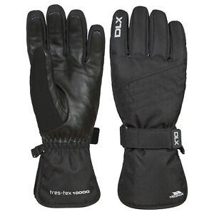 DLX-Rutger-Adults-DLX-Snowsport-Warm-Winter-Waterproof-Black-Gloves