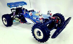 Vintage-Tamiya-Hot-Shot-1-10-4WD-Offroad-Buggy-Radio-Control-RC-Kit-Race-Car