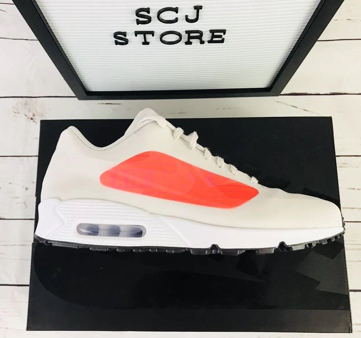 Nike Air Max 90 NA GPX Running shoes Size 11.5 Neutral Grey Crimson AJ7182-001