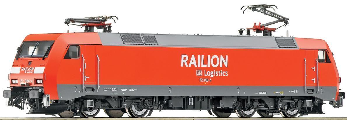 Roco h0 62700 gasóleo br 152 096-4 railion DB Logistics ep.5 tren de carga nuevo embalaje original