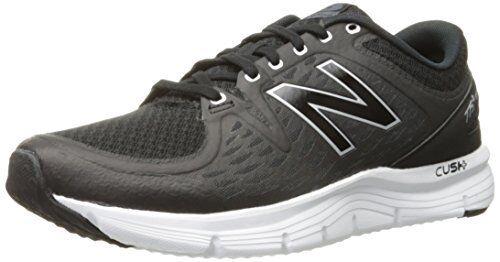 New Balance Hombre M775V2 Zapatillas Running, Negro Plata, 8.5 D Us