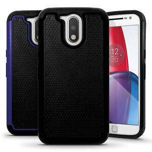 Hard-Back-Cover-amp-Silicone-Gel-Case-for-Motorola-Moto-G-4th-Gen-XT1622-amp-G4-Plus