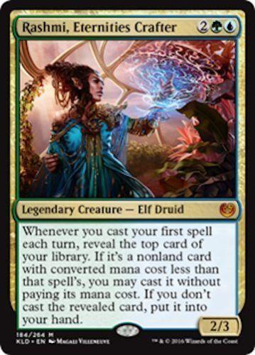MTG Rashmi Eternities Crafter Kaladesh Mythic Magic the Gathering NM//M SKU#165