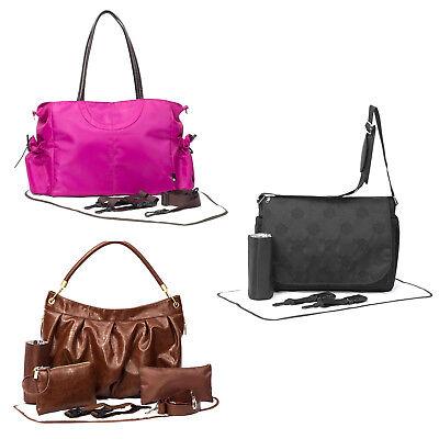 Primrose Hill Designer Stylish Baby Nappy Change Changing Mat Bag Carry Set Kit
