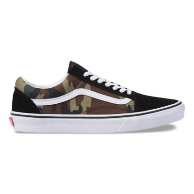 Vans Authentic Woodland Camo Skate Shoes