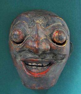 Masque De Théatre Wayang Topeng Ancien/ Bali Début Xxe