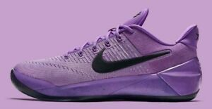sports shoes f3510 d4a45 Image is loading Nike-Kobe-A-D-EP-Purple-Stardust-Black-LA-
