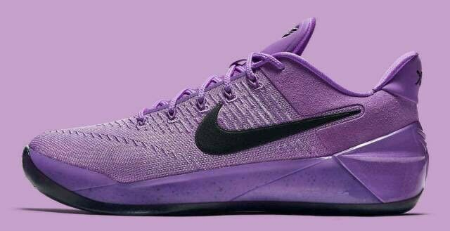 buy popular a5ca9 a53ce Nike Kobe A.d. Ruthless Precision Men Size 9.5 Purple Star Dust Black  852425 500 for sale online | eBay