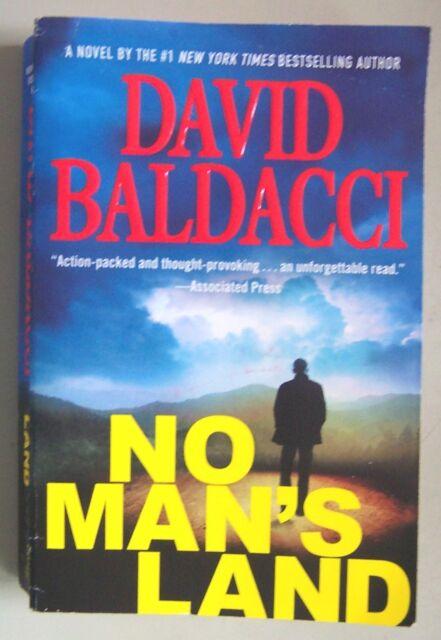 NO MAN'S LAND (John Puller #4) David Baldacci 2016 PB (62026)