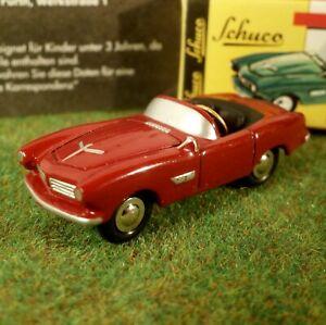 Schuco-Piccolo-bmw-507-convertible-rojo-escala-1-90