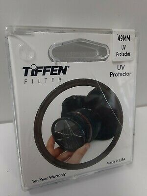 Tiffen 49mm Uv Ultra Violet Glass Camera Camcorder Protection Lens Filter 49uvp 49383099386 Ebay
