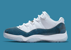 air jordan 11 retro low bleu