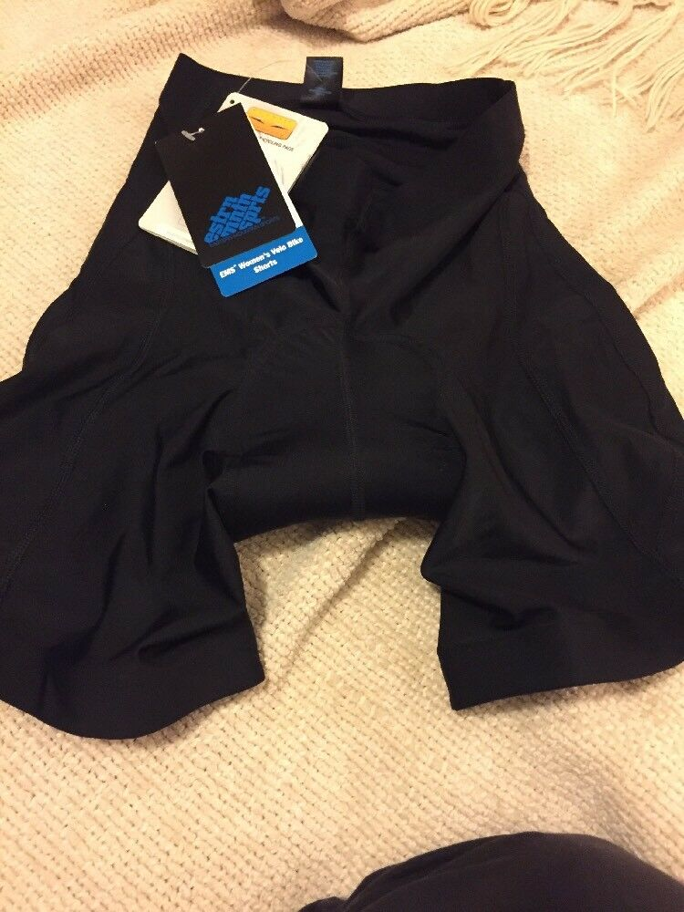 NWT Eastern Mountain Sports Ladies Padded Bike Cycling Velo  Shorts-Small  waiting for you