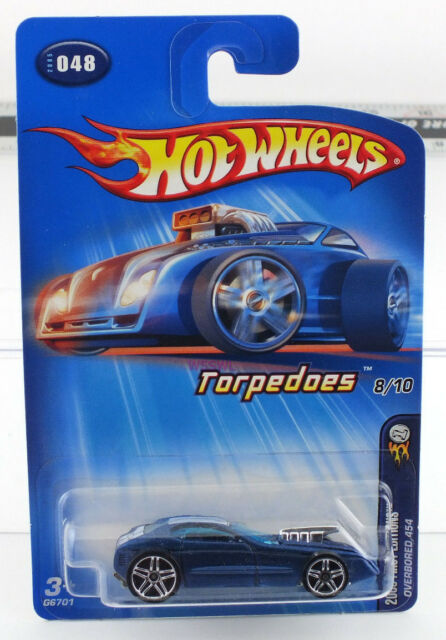 HOT WHEELS 2005 FIRST EDITIONS TORPEDOES OVERBORED 454  #048