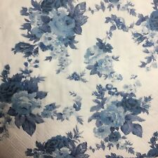 (F120) TWO Individual Paper LUNCH Decoupage Napkins ***FLOWERS/BLUE ROSES***
